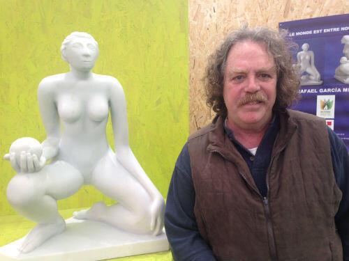 Rafael Garcia Miro se considère comme un artiste engagé pour la préservation de l'environnement.