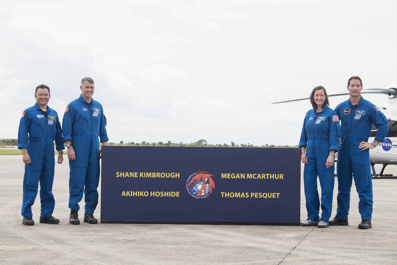 Nasa astronautes pesquet