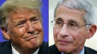 """Top government scientist Anthony Fauci said he has """"never publicly endorsed any political candidate"""" after Donald Trump released a reelection ad that seemed to show him praising the president's response to the coronavirus pandemic"""