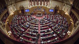 Le Sénat français.