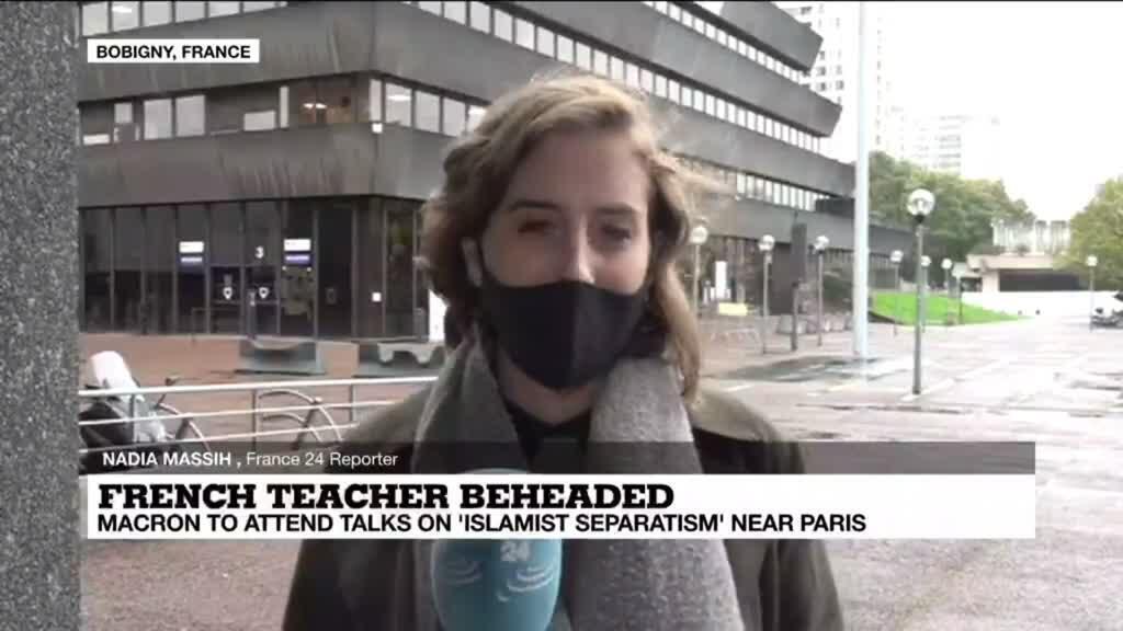 2020-10-20 16:02 French teacher beheaded: Macron to attend talks on 'Islamist separatism' near Paris