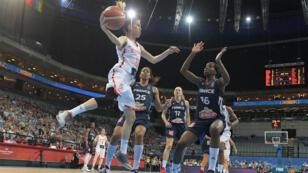 Les basketteuses espagnole se sont imposées 71 à 55 en finale de l'Euro, dimanche 25 juin 2017 à Prague.