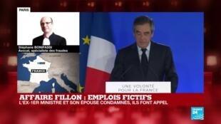 2020-06-29 16:02 Affaire des emplois fictifs : François Fillon et son épouse condamnés, ils font appel