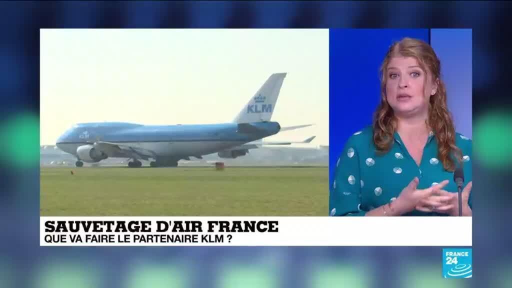 2021-04-06 17:11 Économie : l'État français vole de nouveau au secours d'Air France