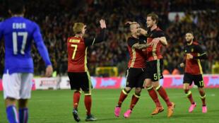 Les Belges espèrent punir l'Italie, comme en novembre 2015, lors de leur dernière confrontation (3-1).
