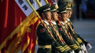عرض عسكري للجيش الصيني في ذكرى انتصار 1945 على اليابان