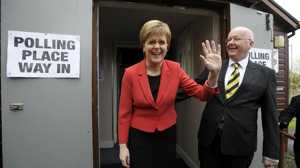 زعيمة الحزب القومي الاسكتلندي نيكولا ستورغن