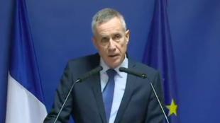 El fiscal François Molins durante la rueda de prensa este 26 de marzo de 2018.