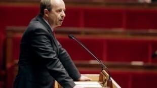 Jean-Jacques Urvoas, l'auteur du rapport