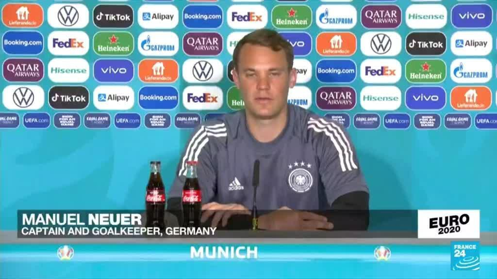 2021-06-15 20:22 Euro 2020: Germany won't accept underdogs tag against France