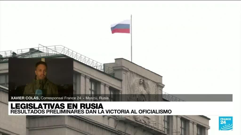 2021-09-20 01:01 Informe desde Moscú: resultados preliminares dan la victoria al oficialismo
