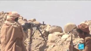 2021-02-15 17:07 Heavy clashes rage in central Yemen, dozens killed