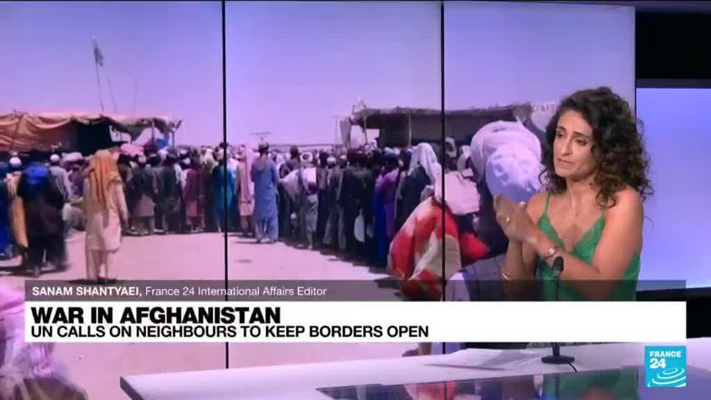 2021-08-13 17:08 UN call on Afghanistan's neighbours to keep borders open as crisis looms