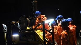 CHINA MINE DEADLY UNDERGROUND GAS LEAK