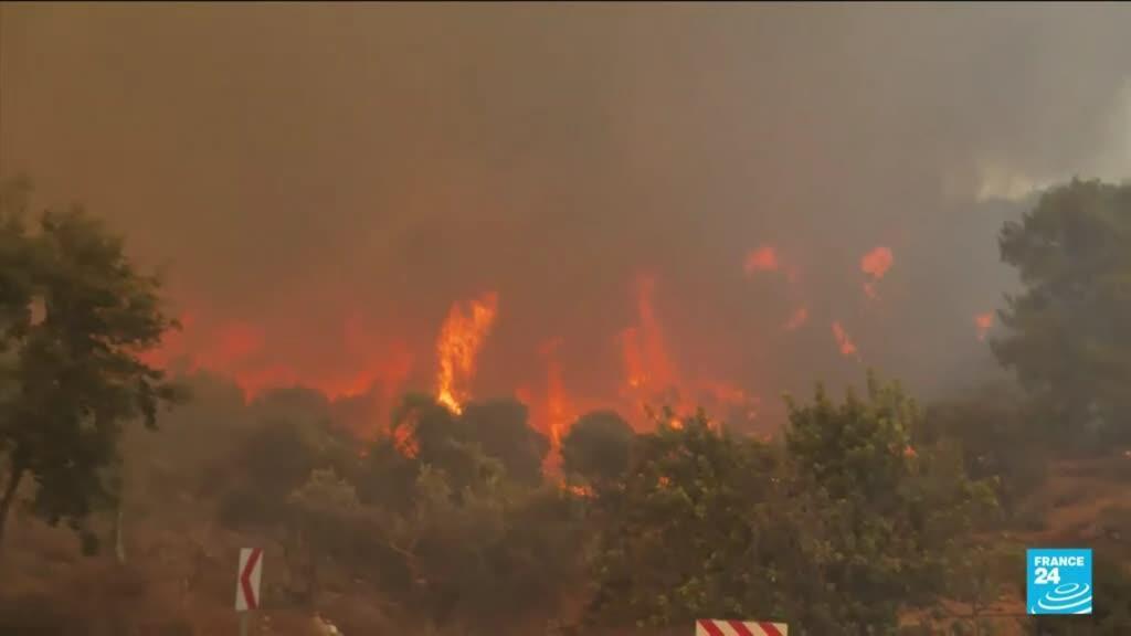 2021-08-04 04:08 Turquía: incendios forestales dejan ocho muertos y más de 10.000 evacuados