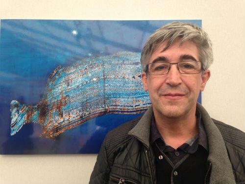Le photographe Marcel Crozet voit les photos qu'il a exposé au Bourget comme des respirations.