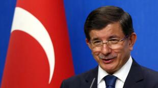 رئيس الوزراء التركي أحمد داوود اوغلو