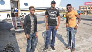 Sunzu, Kalaba et Sinkala embarquent pour Lusaka (Zambie)