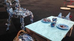 Plusieurs installations artistiques ont été conçues pour la COP21.