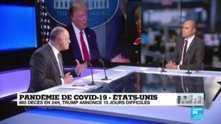 2020-04-01 14:04 Covid-19 : À l'heure de la pandémie, des alliances d'entraide internationales se dessinent