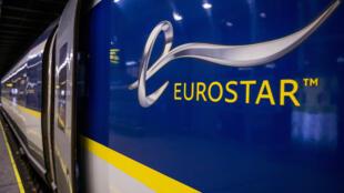 """شركة السكك الحديد العاملة  """"يوروستار"""""""