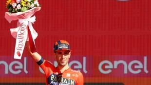 Italy's Vincenzo Nibali finished runner-up on the Giro d'Italia