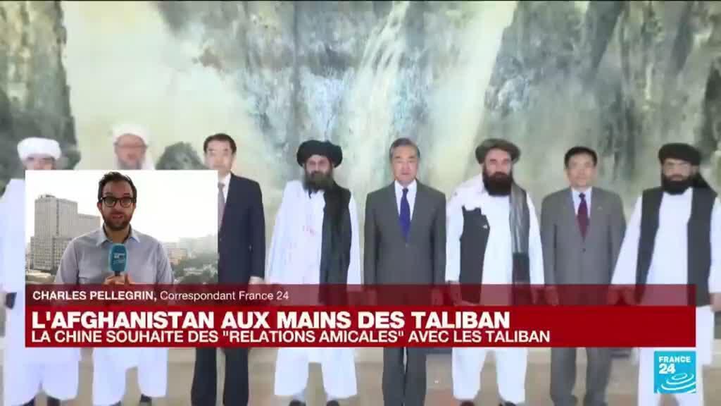 """2021-08-16 13:22 L'Afghanistan aux mains des Taliban : la Chine souhaite """"s'assurer d'une transition stable du pouvoir"""""""