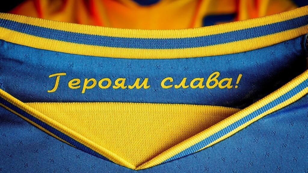 La UEFA le pide a Ucrania modificar un uniforme que generó tensión con Rusia