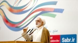 المسؤول القضائي الإيراني غلام محسني إيجائي في صورة تعود إلى آذار/مارس 2017
