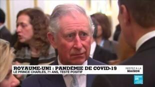 2020-03-25 13:03 Le Prince Charles, 71 ans, testé positif au coronavirus - Covid-19