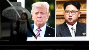 El líder norcoreano, Kim Jong-un y el presidente de Estados Unidos, Donald Trump, se reunirán el 12 de junio en Singapur.
