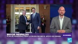 Economía gira Fernández España