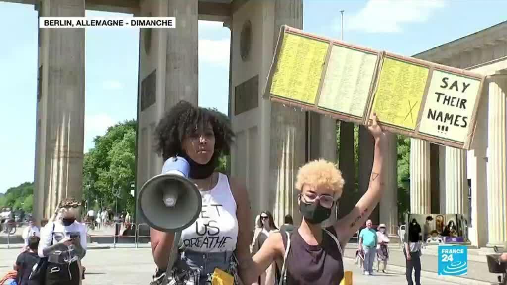 2020-06-01 06:08 Mort de Georges Floyd : Berlin, Londres, Toronto... des manifestations qui s'étendent au-delà des Etats-Unis