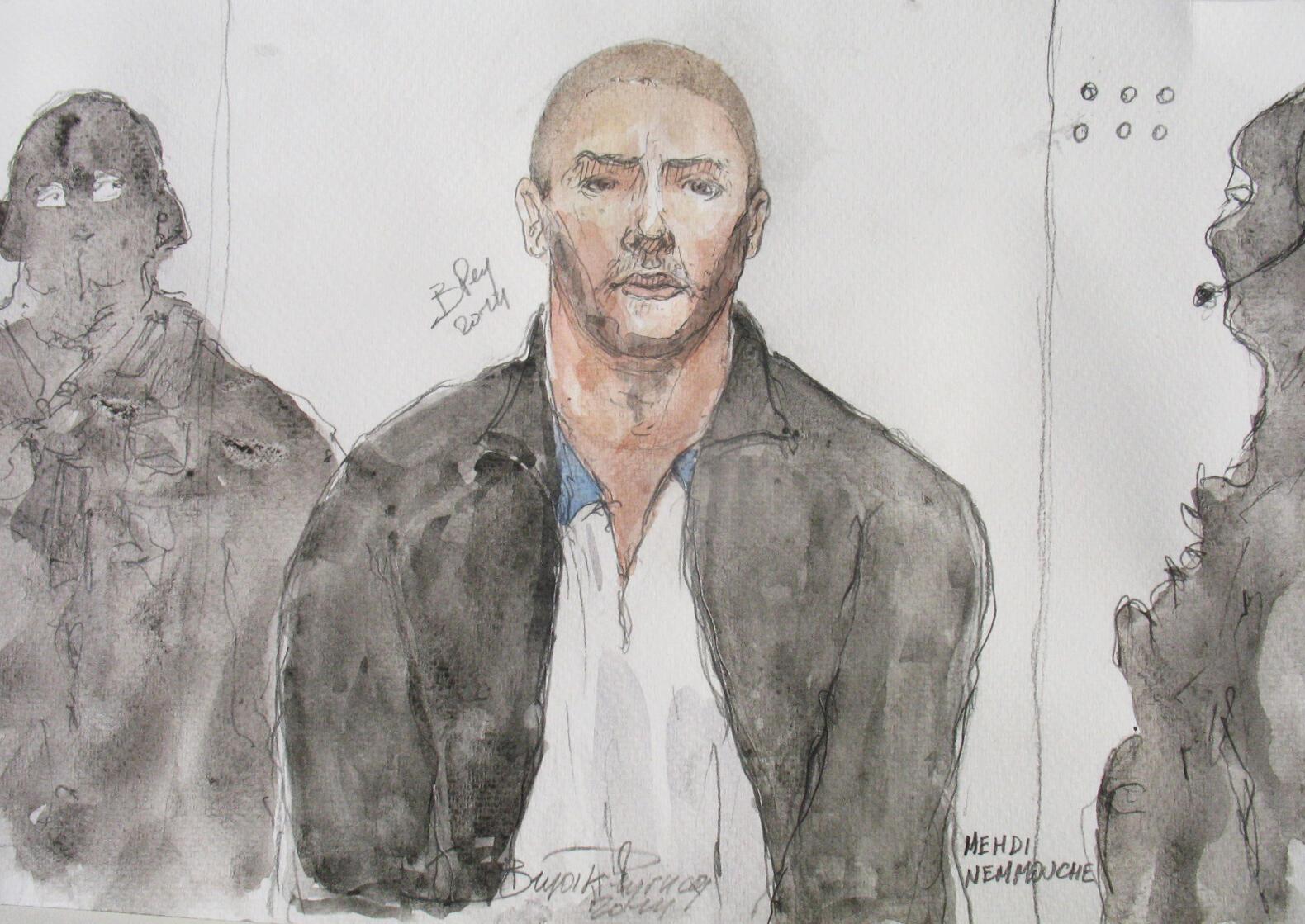 """Mehdi Nemmouche a été inculpé, fin juillet, pour """"assassinat dans un contexte terroriste""""."""