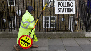 Les bureaux de vote londonniens ont ouvert à 7h jeudi 7 mai.