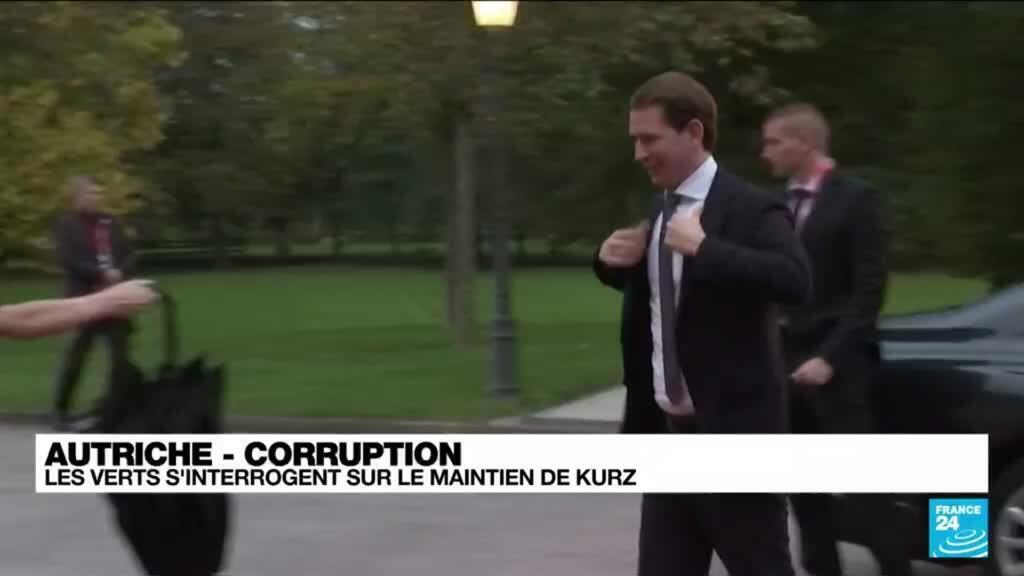 2021-10-07 14:44 Autriche : les Verts s'interrogent sur le maintien de Kurz à la chancellerie