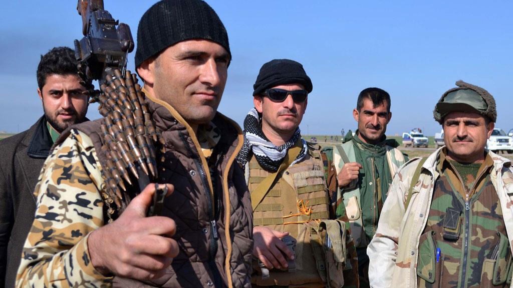 Les peshmerga irakiens ont été la cible d'attaques chimiques, d'après les autorités kurdes irakiennes.