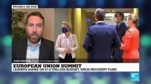2020-12-11 08:09 EU summit: Leaders strike deal on landmark budget, virus recovery fund