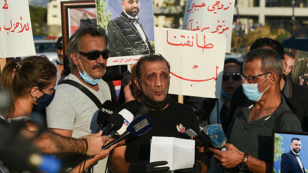 Beirut port blast activist resigns amid pressure over judge ouster