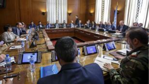 Les pourparlers pour la Syrie ont repris mardi 16 mai à Genève.