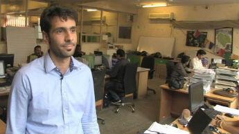 Jérémy Grasset, co-directeur de l'agence Shanti Travel, revendique une augmentation de son activité de 25 %.
