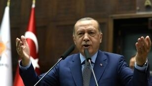 Turkish President Recep Tayyip Erdogan says oil companies cannot exploit the resources of the eastern Mediterranean while excluding Ankara