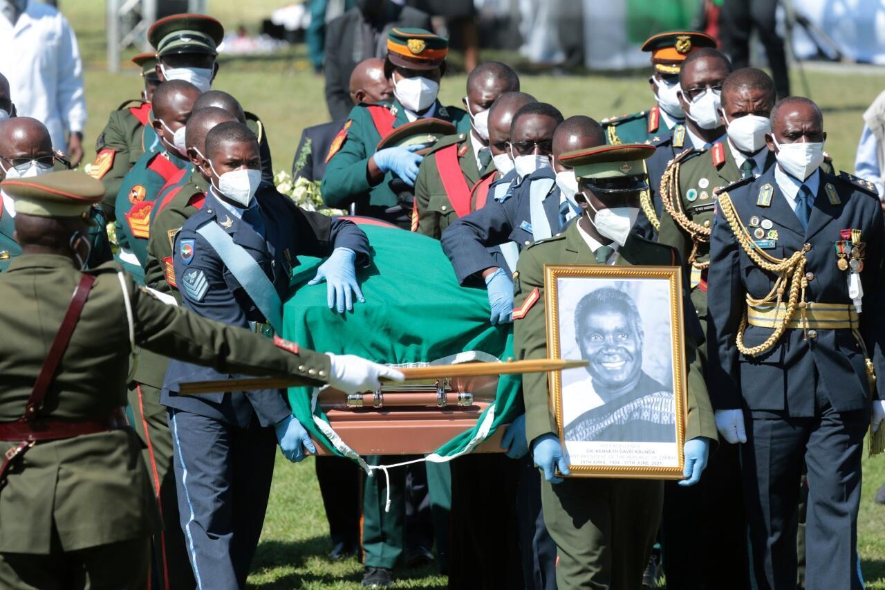 Kaunda funeral Zambia