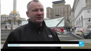 Ivan Boubentchik, ancien activiste du Maïdan, affirme avoir tiré sur des policiers au cours de la répression de février 2014.