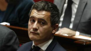 Le ministre des Comptes publics, Gérard Darmanin, à l'Assemblée nationale, le 29 novembre 2017.