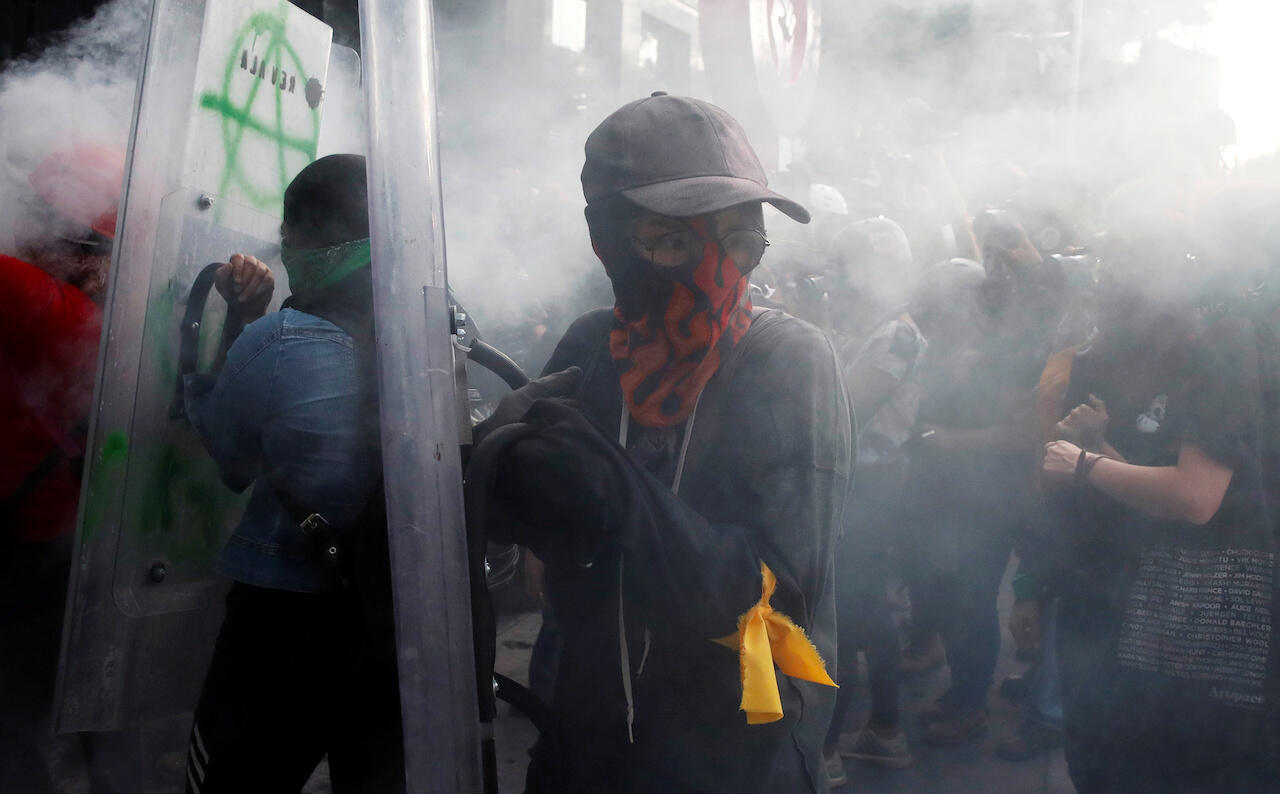 Mexico abortion rights protest