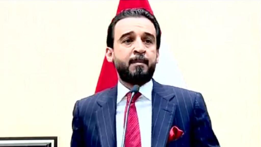 محمد الحلبوسي رئيس البرلمان العراقي الجديد.