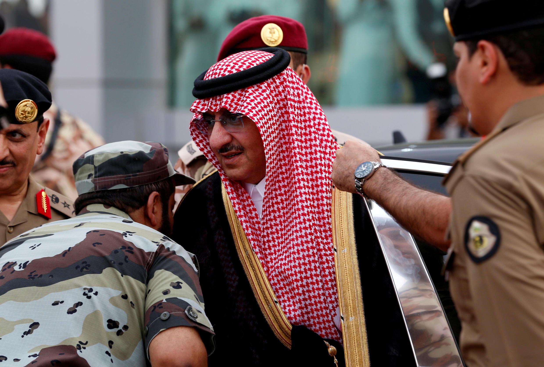 File photo taken in September 2016 of Saudi Prince Mohammed bin Nayef in Mecca, Saudi Arabia.