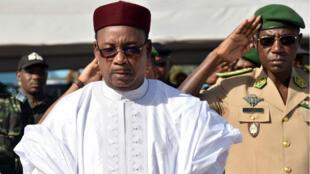 Mahamadou Issoufou a été investi à la tête du Niger pour un second mandat.