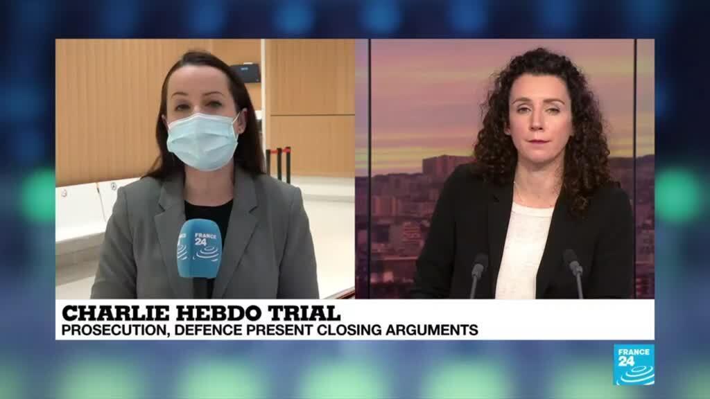 2020-12-08 09:12 Charlie Hebdo trial: Prosecution, defence present closing arguments